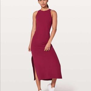 Lululemon Red Maxi Dress